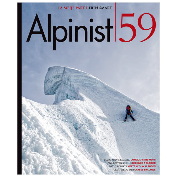 Alpinist Magazine Issue 59  - Autumn 2017