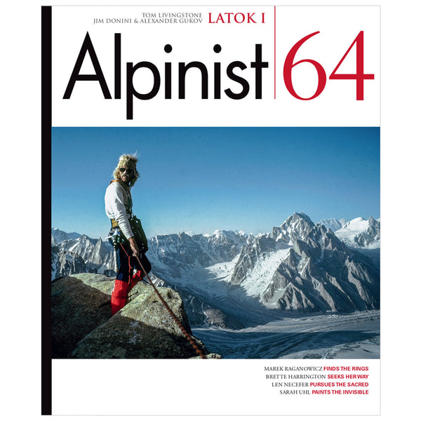 Alpinist Magazine Issue 64 - Winter 2018