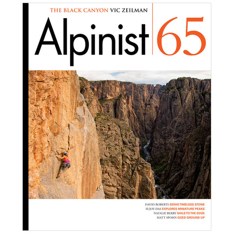 Alpinist Magazine Issue 65 - Spring 2019