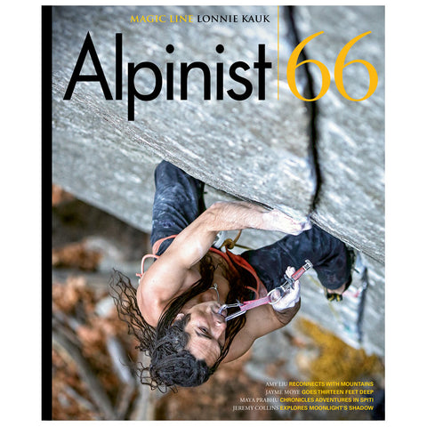 Alpinist Magazine Issue 66 - Summer 2019