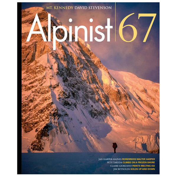 Alpinist Magazine Issue 67 - Autumn 2019