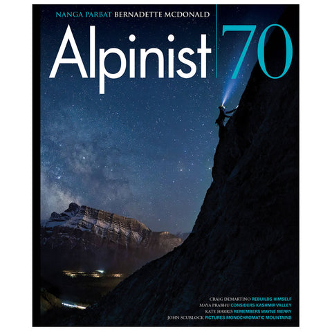 Alpinist Magazine Issue 70 - Summer 2020