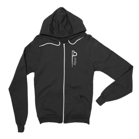 Alpinist Piton Zip Fleece Hoodie <br> [BLACK]