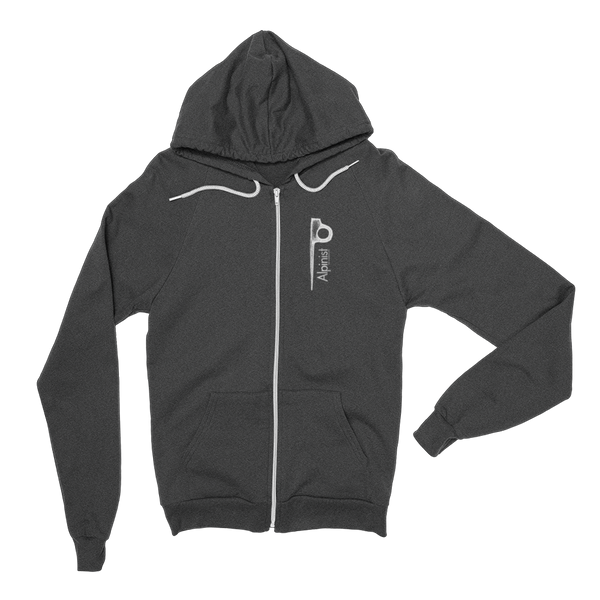 Alpinist Piton Zip Fleece Hoodie <br> [DARK HEATHER GREY]