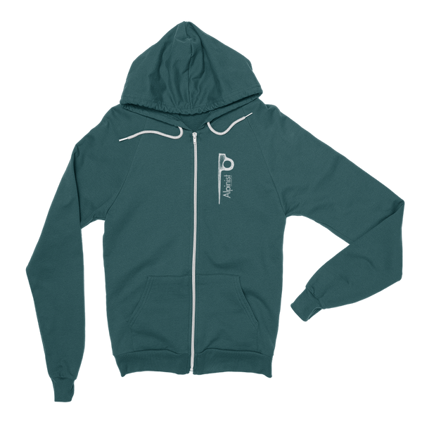 Alpinist Piton Zip Fleece Hoodie <br> [FOREST]