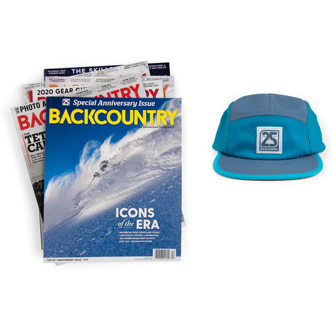Backcountry Gift Subscription & Endurance Hat