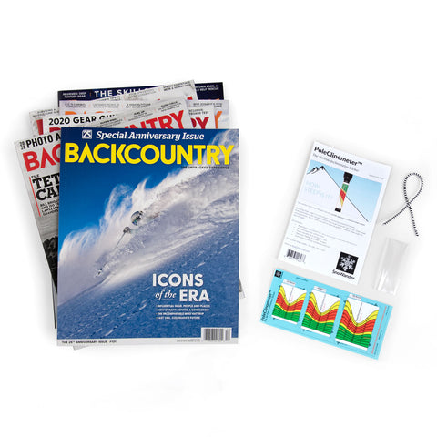Backcountry Subscription & PoleClinometer™