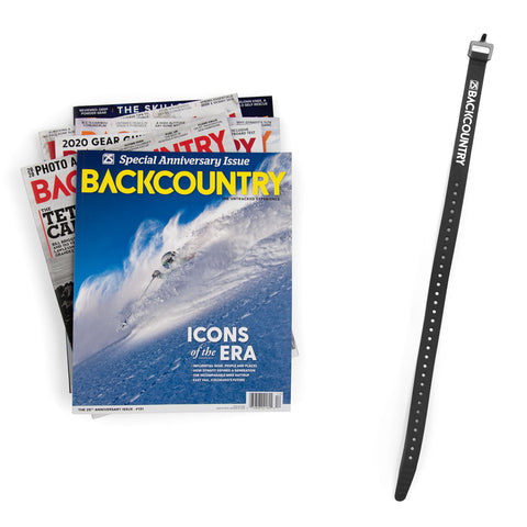 Backcountry Gift Subscription & Voile Strap