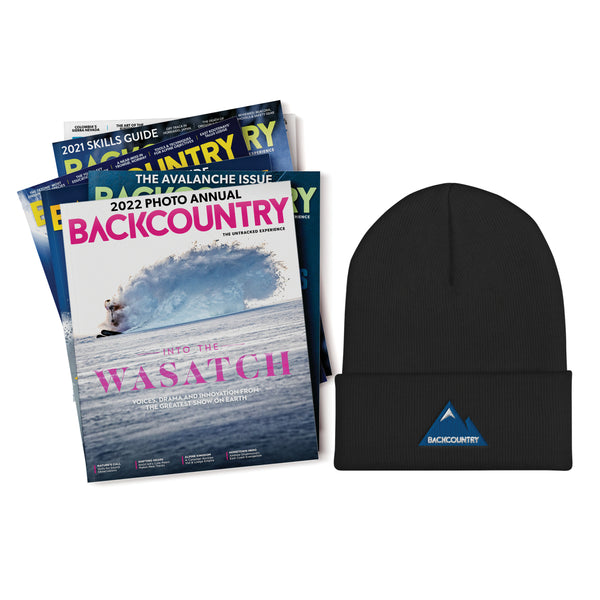 Backcountry Gift Subscription & Beanie