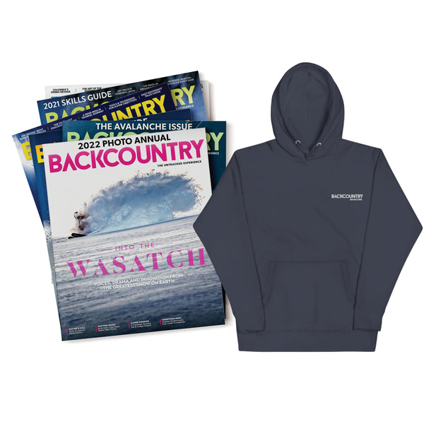 Backcountry Gift Subscriptions & Embroidered Hoodie