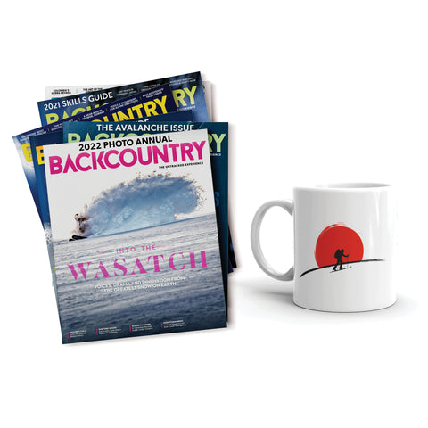 Backcountry Gift Subscription & Mug
