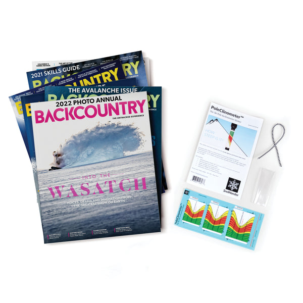 Backcountry Gift Subscription & PoleClinometer™