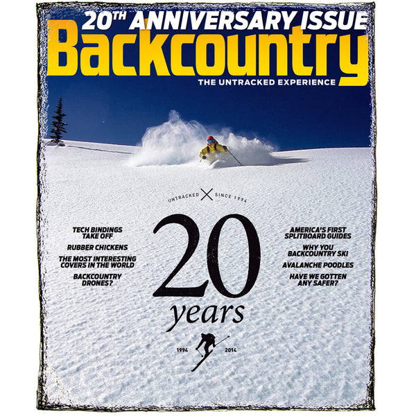 Backcountry Magazine November 2014 - 20th Anniversary Issue
