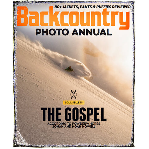 Backcountry Magazine December 2014 - Photo Annual