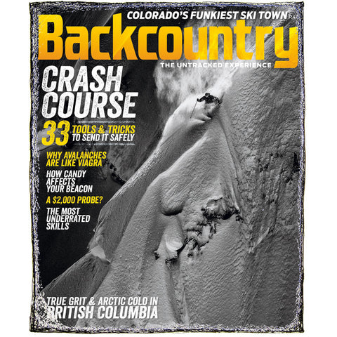 Backcountry Magazine January 2015 - Risk vs. Reward