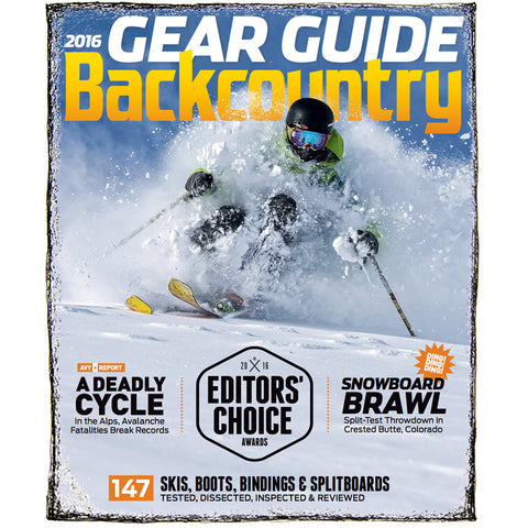 Backcountry Magazine September 2015 - 2016 Gear Guide