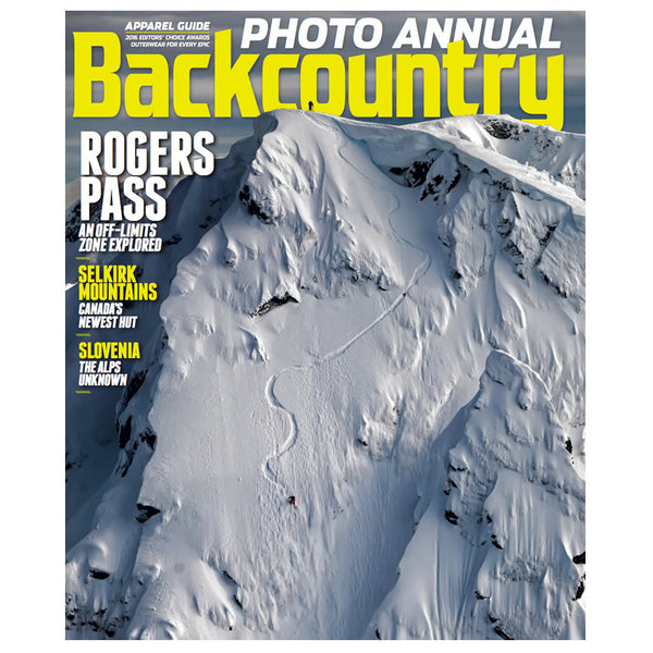 Backcountry Magazine December 2015 - The Photo Annual