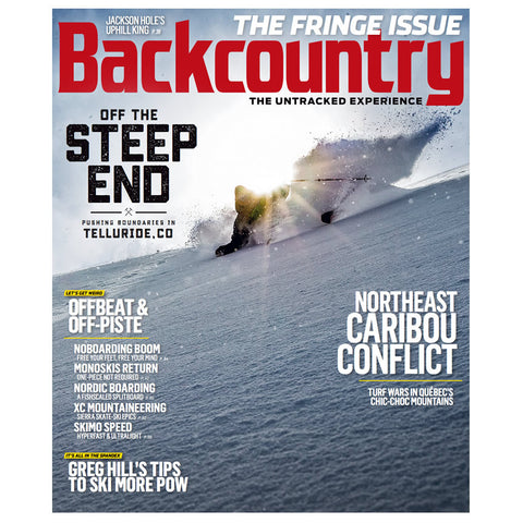 Backcountry Magazine January 2016 – The Fringe Issue