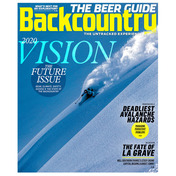 Backcountry Magazine March 2016 – The Future Issue