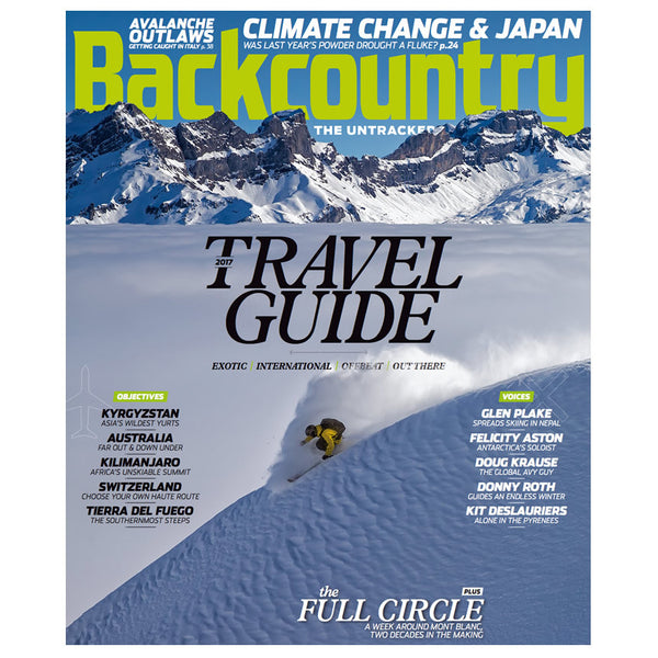 Backcountry Magazine October 2016 - The International Issue