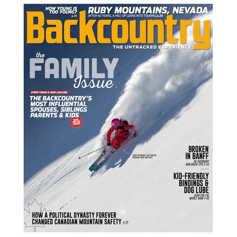 Backcountry Magazine November 2016 - The Family Issue