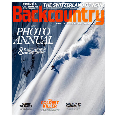 Backcountry Magazine December 2016 - The Photo Annual