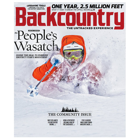 Backcountry Magazine January 2017 - The Community Issue
