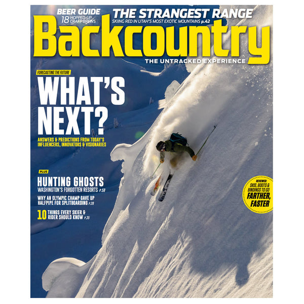 Backcountry Magazine March 2017 - The Generations Issue