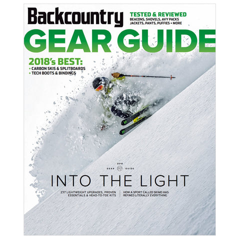 Backcountry Magazine September 2017 - 2018 Gear Guide
