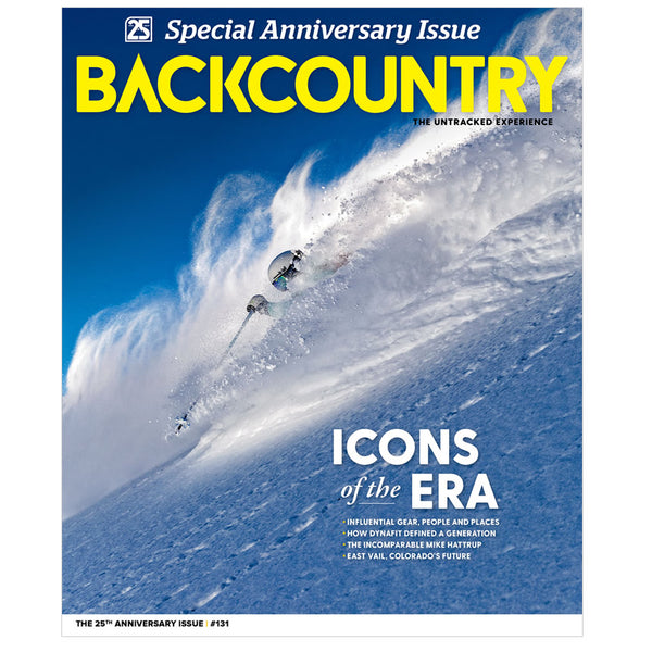 Backcountry Magazine 131 - The 25th Anniversary Issue