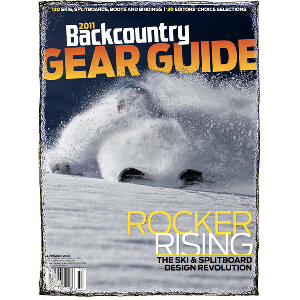 Backcountry Magazine September 2010 - Gear Guide