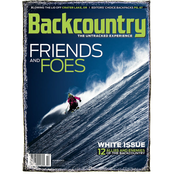 Backcountry Magazine October 2010 - White Issue