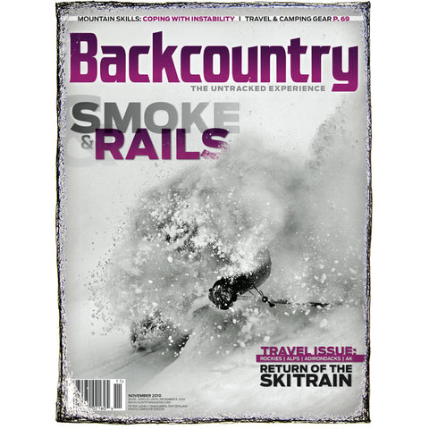 Backcountry Magazine November 2010 - Travel Issue