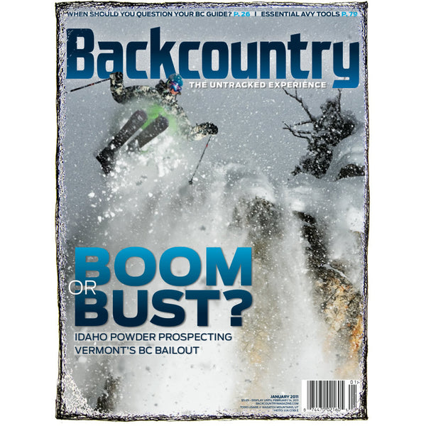 Backcountry Magazine January 2011