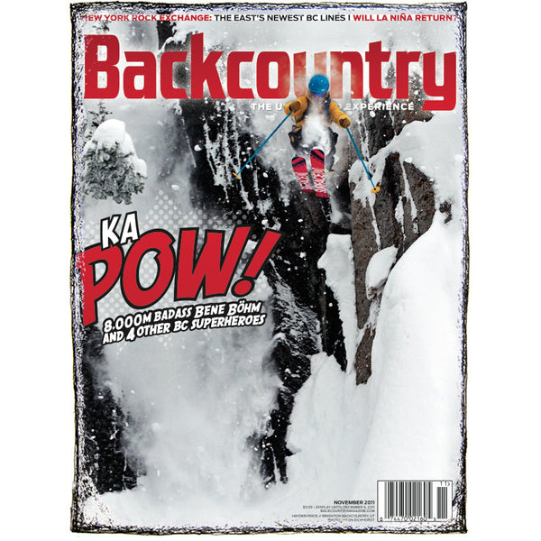 Backcountry Magazine November 2011