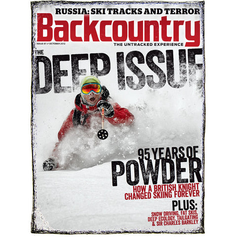 Backcountry Magazine October 2012 - The Deep Issue