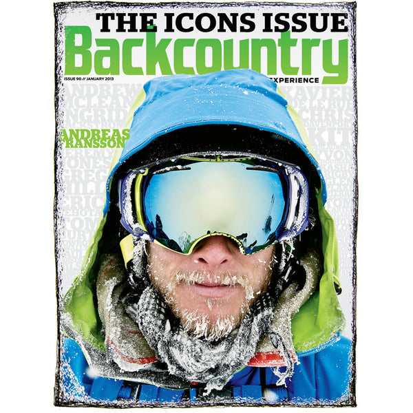 Backcountry Magazine January 2013 - The Icons Issue