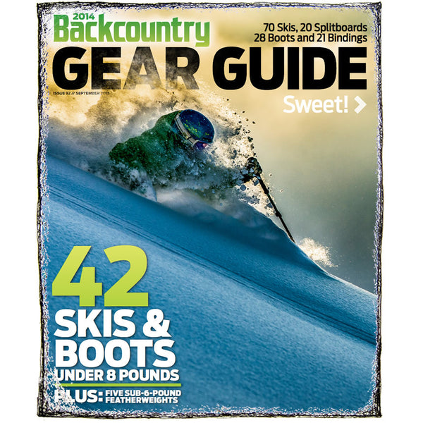 Backcountry Magazine September 2013 - 2014 Gear Guide