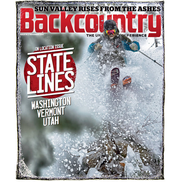 Backcountry Magazine November 2013 - The On Location Issue