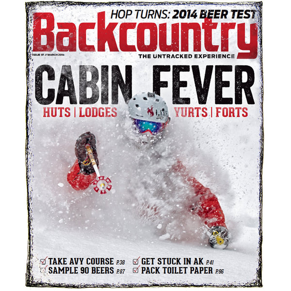 Backcountry Magazine February 2014 -  Hut and Lodge Guide