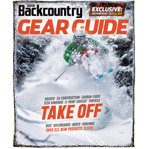Backcountry Magazine September 2014 - 2015 Gear Guide