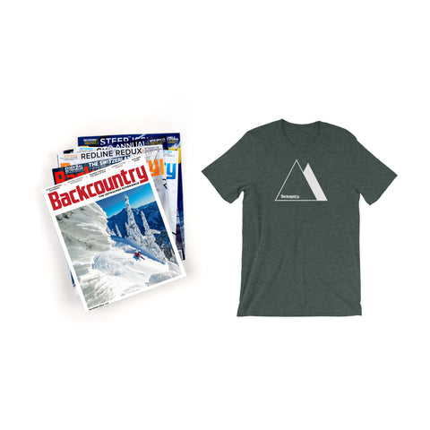 Backcountry Subscription with T-shirt