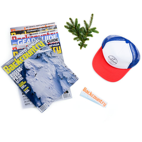 Backcountry Holiday Edition Gift Subscription with Hat