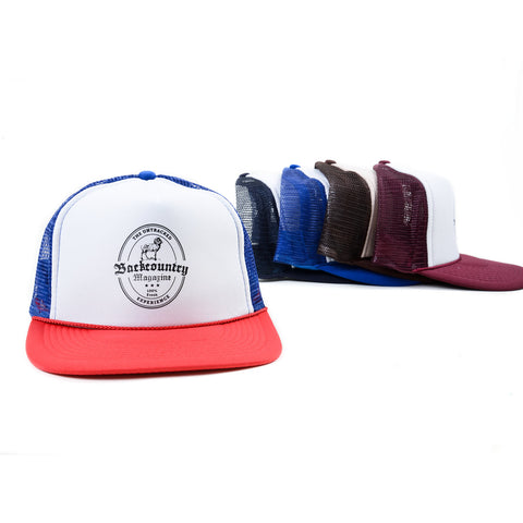 Backcountry Label Trucker Hat