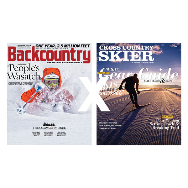 Backcountry X Cross Country Skier Combo Subscription
