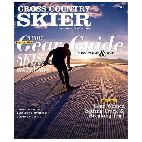Cross Country Skier Fall 2016