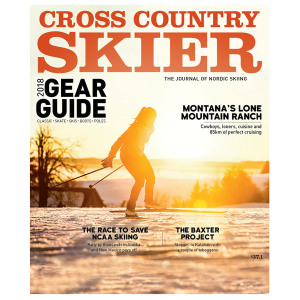 Cross Country Skier Fall 2017