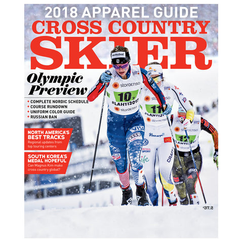 Cross Country Skier Winter 2017-18