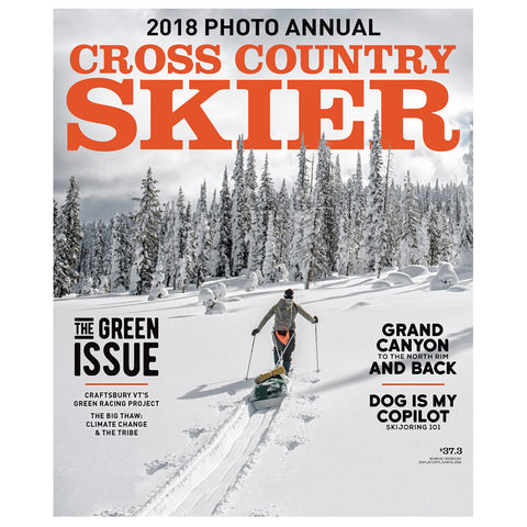 Cross Country Skier Spring 2018