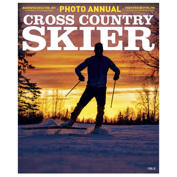Cross Country Skier Winter 2019